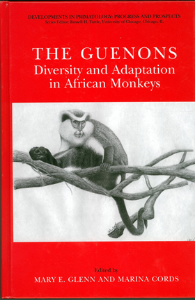 Book cover with an image of a monkey